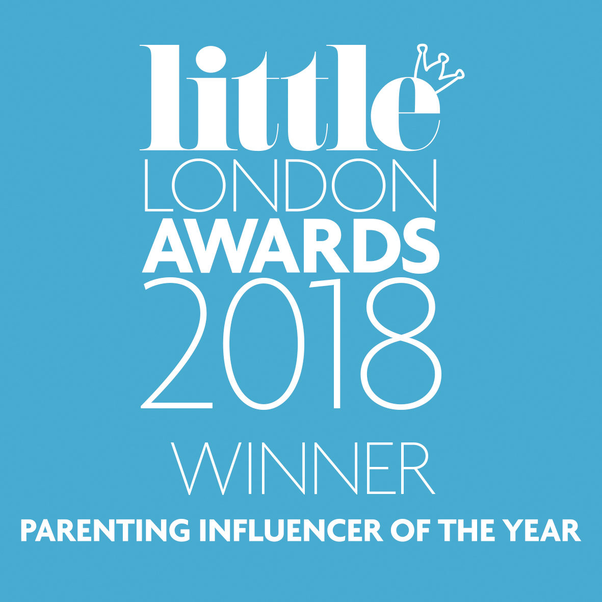 Little London Awards 2018. Parenting Influencer Of The Year